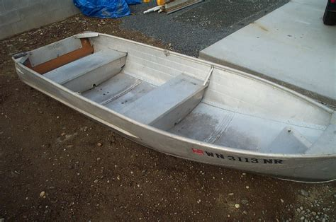 Row Boat Used by 12 Aluminum Row Boat Sold Northwest Fishing Reports