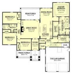 Floor Plans 4 Bedroom House