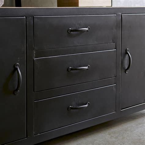 chaise pour bureau meuble sous vasque en mtal noir et manguier pour salle de