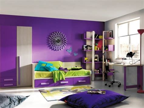 Purple Kids Room Design Ideas