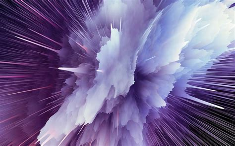 wallpaper particle explosion purple hd abstract