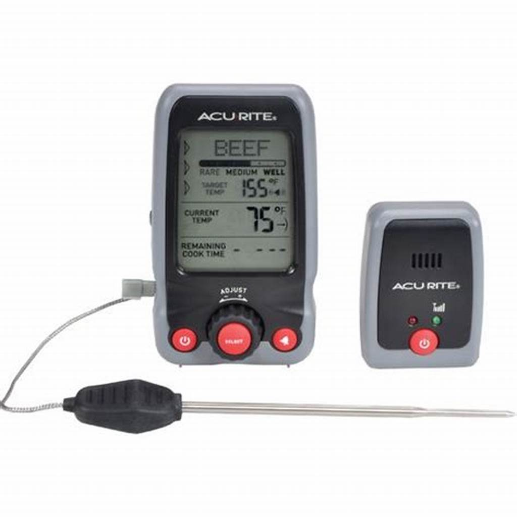 #Acurite #Digital #Cooking #Thermometer #With #Probe #And #Pager