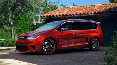 Chrysler Pacifica by 2017 Chrysler Pacifica Hellcat Top Speed