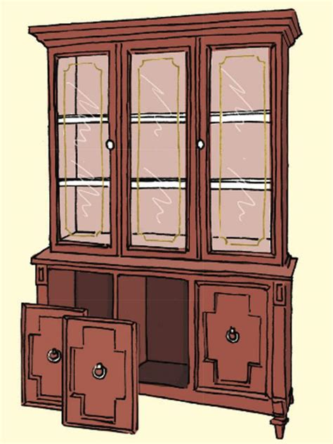 China Cabinet Used by Update A Used China Cabinet Hgtv