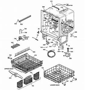 Ge Model Gsd5500g00bb Dishwasher Genuine Parts