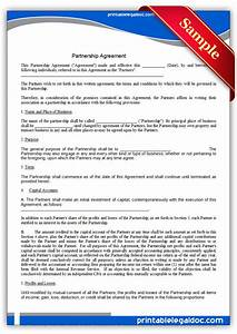 rto partnership agreement template - free printable partnership agreement form generic
