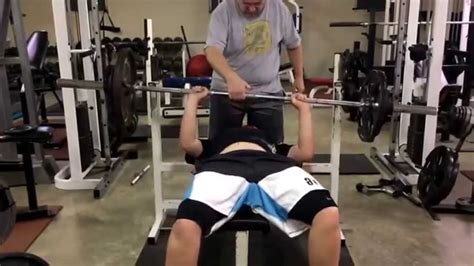 13 Year Old Boy Bench Press 175 Youtube