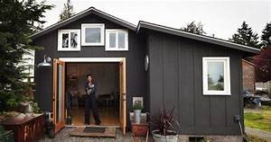 un garage transforme en petite maison With transformation garage en logement