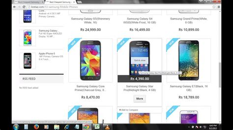 samsung mobile phone price list kretaz youtube