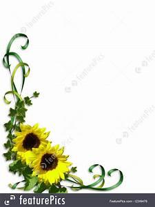 Invitation Words Templates Sunflowers Wedding Invitation Template Stock