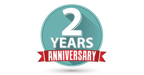 2nd year anniversary our 2nd anniversary in website design a great industry to be in