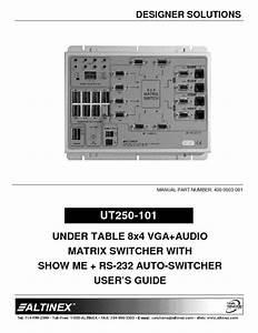 Ut250-101 Manuals