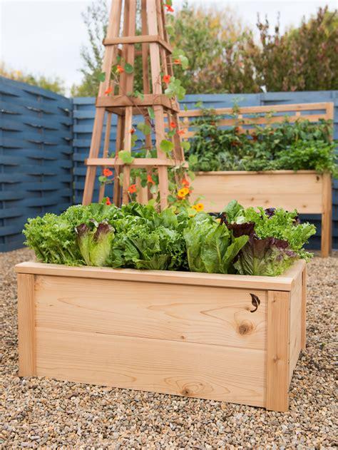 cedarlast raised garden bed  gardeners supply