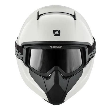 white motocross helmets shark vancore plain white motorcycle helmet whu combat