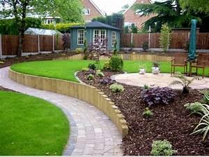 Bordure Plastique Jardin : idee de bordure de jardin great comment raliser ses ~ Premium-room.com Idées de Décoration