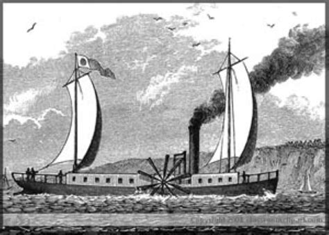 Steam Boat Experiment by Steamboat Robert Fulton