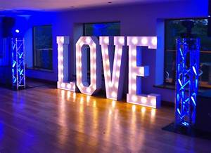 the old grammar school in middleton wedding venue review With large love letters