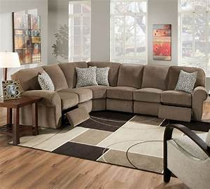 make your room beautiful using sectional recliner elites With used sectional sofa with recliner