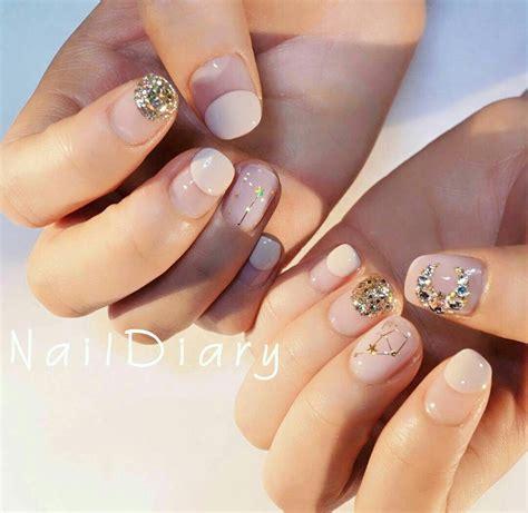 Korean Nails Korean Art   Korean nails, Korean nail art ...