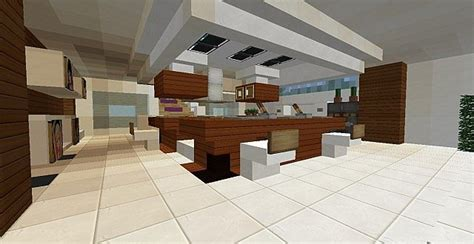cuisine minecraft ultra modern house 2 minecraft project