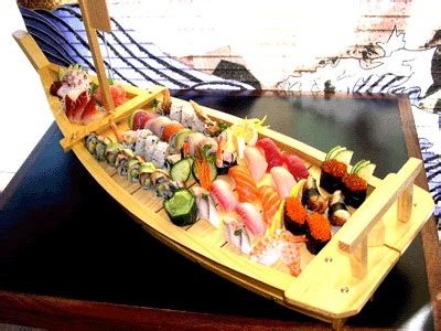 Boat Sushi by Sticky Note It March 2010