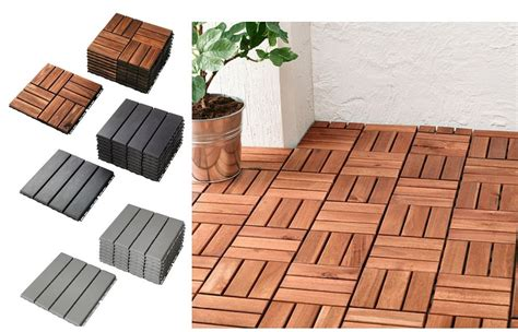 Runnen Floor Decking Grey by Ikea Runnen Floor Decking Outdoor Patio Terrace Flooring
