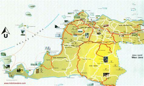 peta provinsi banten anyer carita