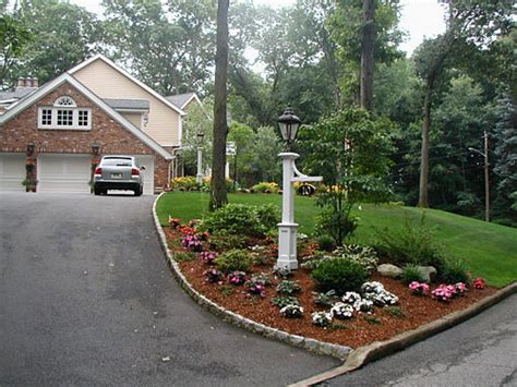 landscape driveways image of driveway landscape ideas for slopes culvert pinterest driveways landscaping and