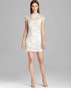 10 short little white dresses to wear to your wedding With short white wedding reception dress