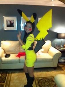 Homemade pikachu costume halloween 2012   Halloween ...
