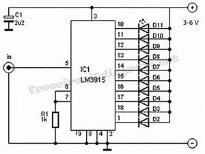 vu meter circuit with 10 led circuit diagram world With vu meter circuit with 10 led b2b electronic components