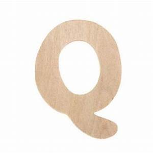 wood letter q unfinished 25 x 3 inches wholesale With wooden cut out letters wholesale