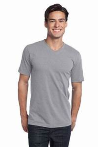 District Young Mens The Concert Tee V Neck Style DT5500