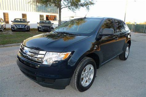 sell   ford edge limited pano roof  owner