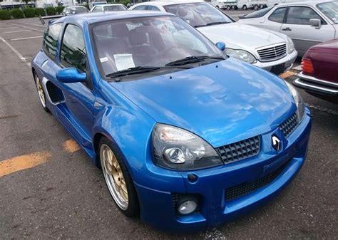 renault japan 2003 renault clio v6 renault sport affordable used cars