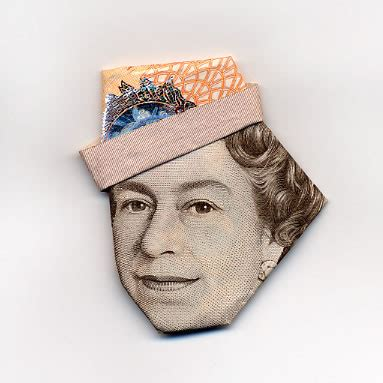 La Vie Digitale: Moneygami, the Banknote Origami