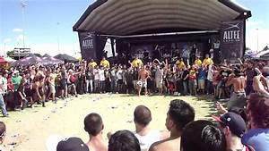 "Whitechapel Wall of Death ""This is Exile"" Warped Tour Las ..."