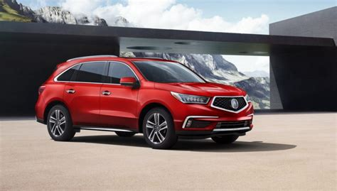 2018 Acura Mdx Starts At $45,175  The Torque Report