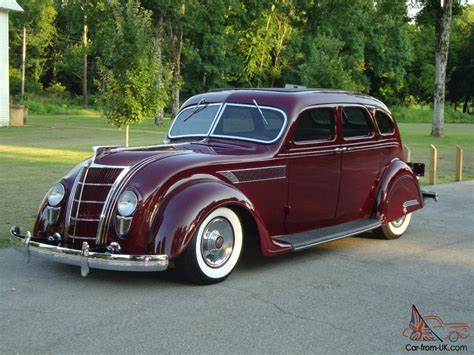 Chrysler Chevy by 1935 Chrysler Airflow C2 Imperial Rod Steel