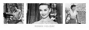 Audrey Hepburn - roman holiday triptych Poster | Sold at ...