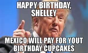 Mexico Happy Birthday Donald Trump Meme
