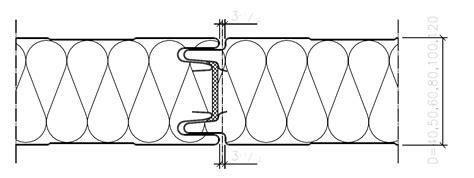 Sienām (atvērtā tipa stiprināšana) - Mersona