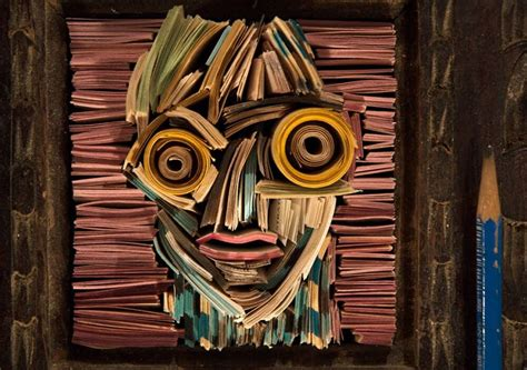 A Showcase Of Recycled Paper Art