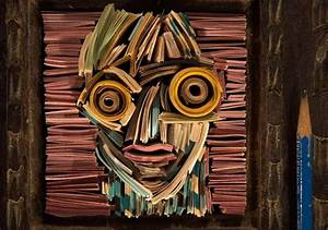 A, Showcase, Of, Recycled, Paper, Art