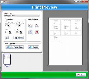Label printer for avery and custom labels ssuite office for Free label printing software