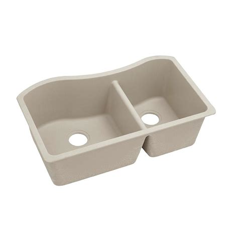 elkay quartz undermount sink elkay premium quartz undermount composite 32 5 in double