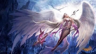 Angels Guardian Wallpapers League Widescreen