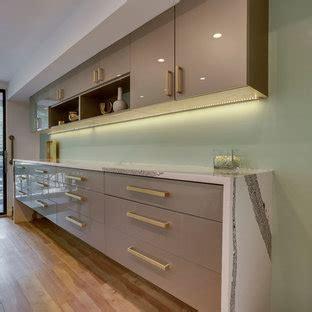 champagne color modern kitchen  houzz