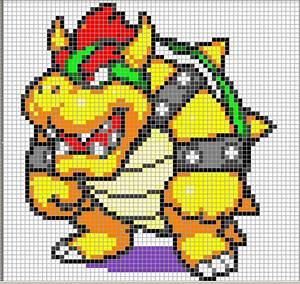Mario Sprite Stitch Part 53