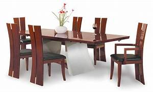 wood dining room tables trellischicago With best wood for dining room table